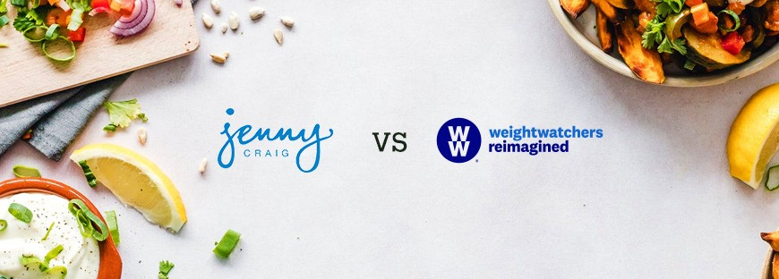 Comparison between Jenny Craig and Weight Watchers