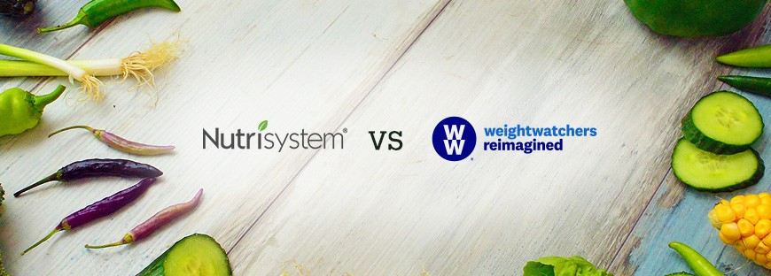 Comparison between Nutrisystem and Weight Watchers
